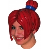 Anime Wig - Red Bun